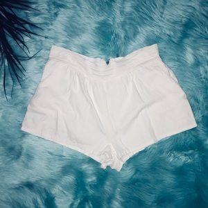 Unionbay off White linen highwaist shorts w/zipper